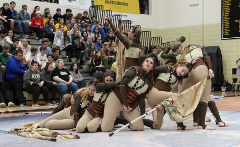 New entertainment incorporated in Spring Pep Assembly