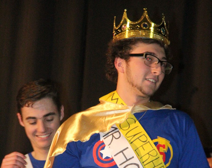 Mr.HOSA in crowned Mr.Superhero at the 2017 Mr.OHS competition.