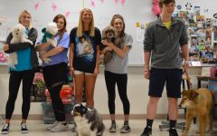 Seniors bring their pets to school