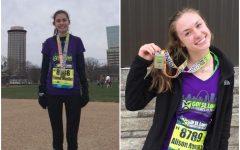 Mueller and Novara earn top awards in half marathon