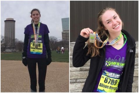 Mueller and Novara earn top awards in half marathon
