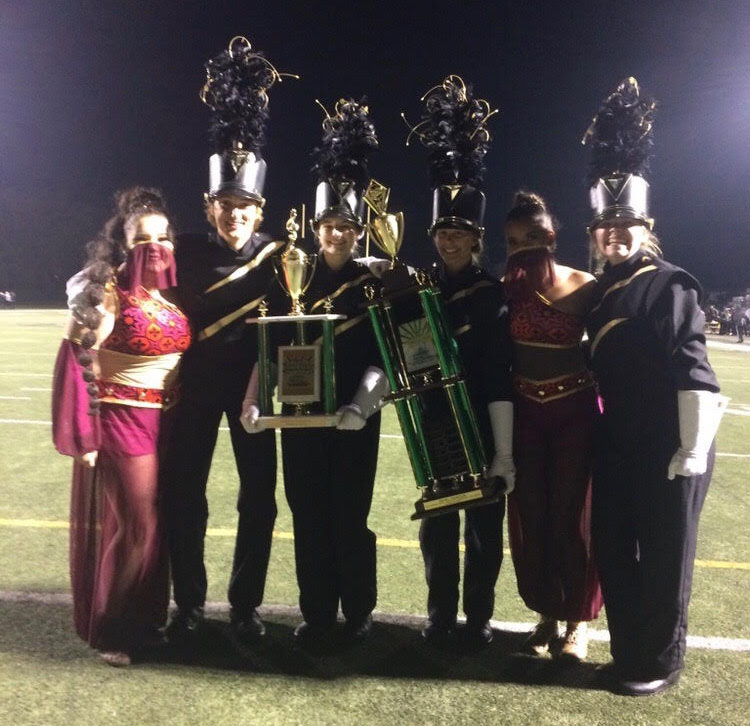 Band places in BOA