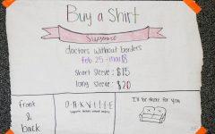 French Club sells t-shirts