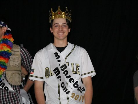 Thomas Purschke (12) wins Mr. OHS
