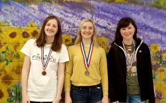 OHS students place in National French Exam
