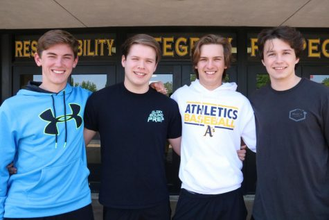 Adam Leeker (11), Nathan Wooddell (11), Hunter Iffland (11), and Andrew Carter (11) make it in to the America Legion Boys State.