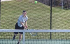Boys tennis prepare for districts