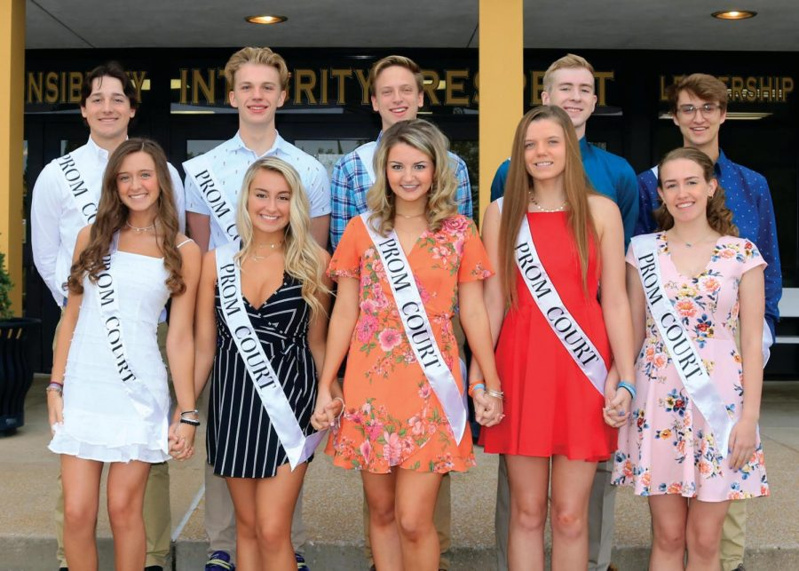 Prom court announced