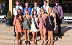 Homecoming court is announced