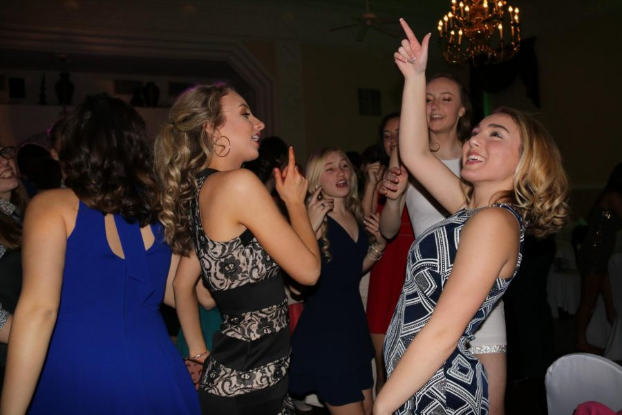 OHS Juniors party it up at their Junior Ring Party on Feb. 13