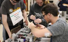 OHS hosts robotics competition