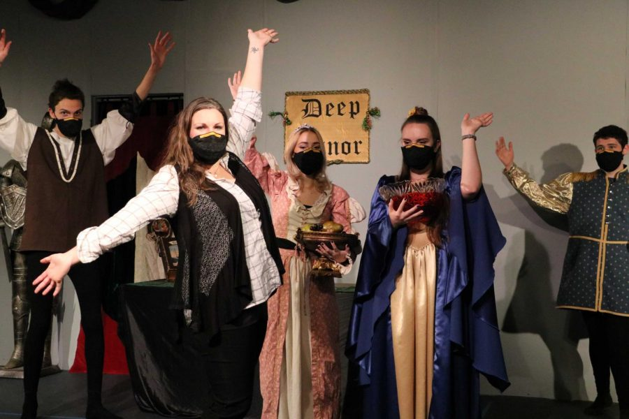 The  Madrigal Singers present their first virtual dinner theatre, a show called