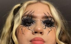 """I did this look on Halloween (10/31/19) and including my base makeup, it took 2 hours to complete,"" said Neely."