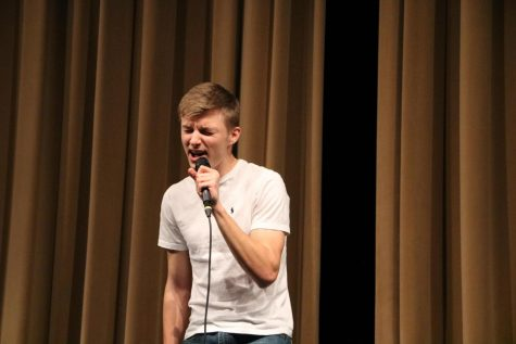 Gavin Sandvoss (11) is one of three of OHS students who received the choir All State award