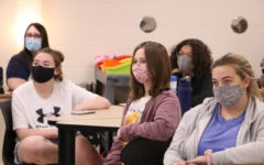 Members of the GSA (Genders and Sexualities Alliance Network) during meeting.