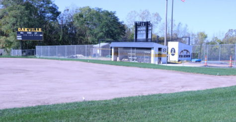 The OHS softball field is undergoing many changes and improvements to the field itself and the dugouts.